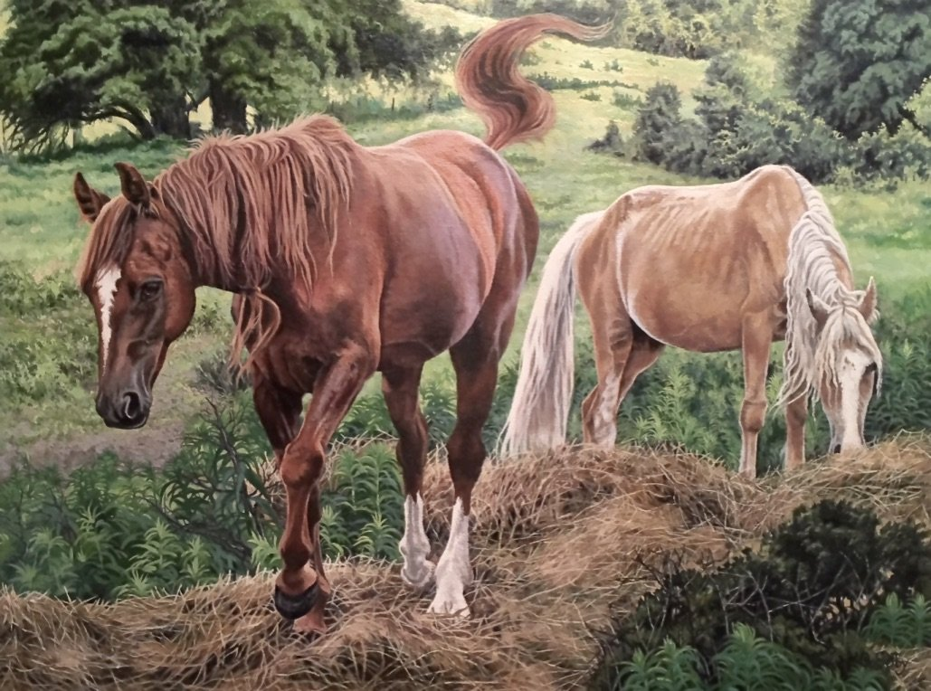 Oil Painting by Artist Genni Selby
